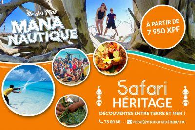 MANA NAUTIQUE -  Excursions - Île des Pins - Photo 1 - Nouvelle-Calédonie